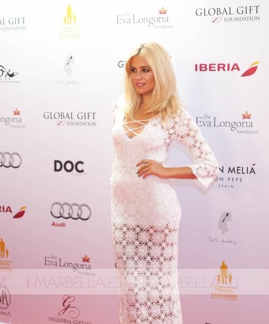 Global Gift Gala with Eva Longoria in Gran Melia Don Pepe