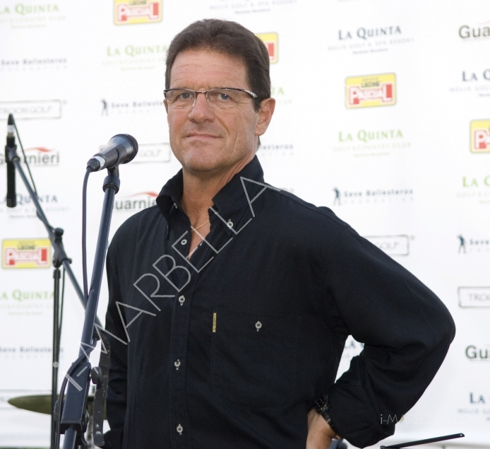 GALLERY:Fabio Capello Charity Gala Dinner at La Quinta Golf Club, Marbella