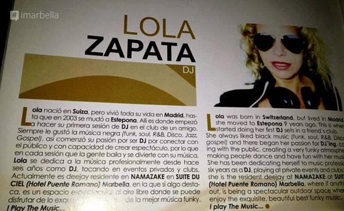 10 Minutes with DJ Lola Zapata
