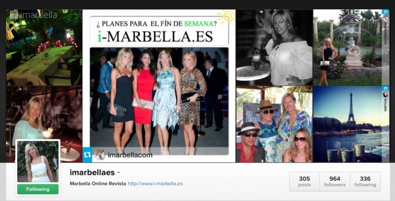i-Marbella Social Media Channels - Best Advertising in Marbella!