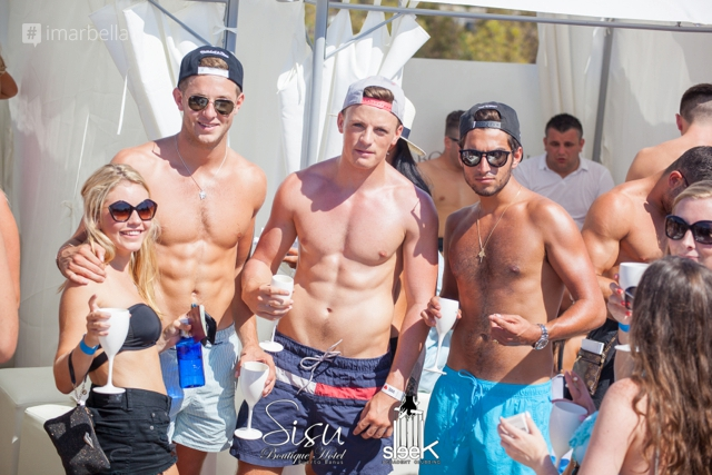 Saturday Rooftop Party in Sisu Boutique Hotel 23 August