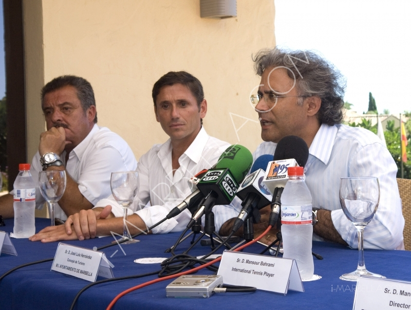 Masters Tennis Press Conference, Puente Romano, Marbella