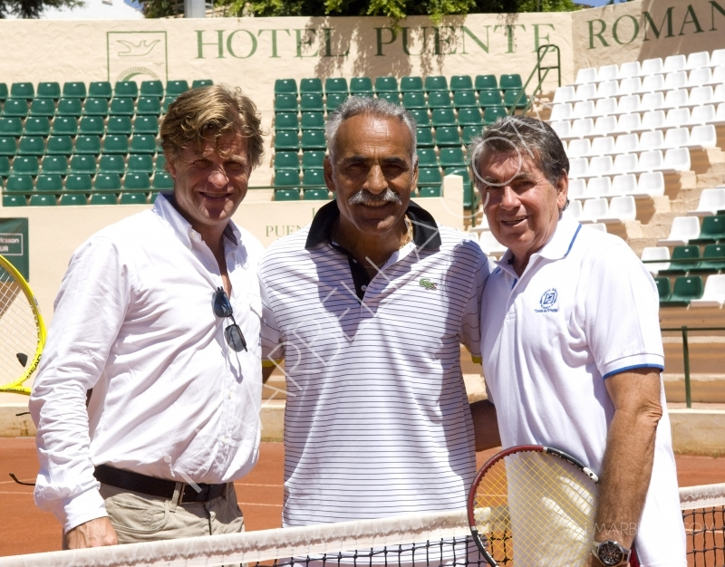 Masters Tennis Press Conference, Puente Romano, Marbella