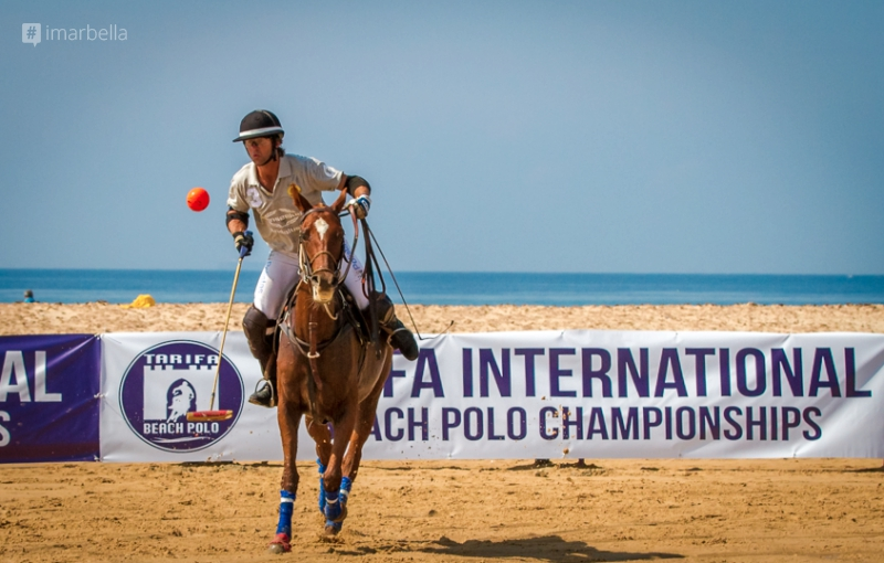 "The McLaren/Guarnieri team wins the first edition of the ""Tarifa International Beach Polo Championships"