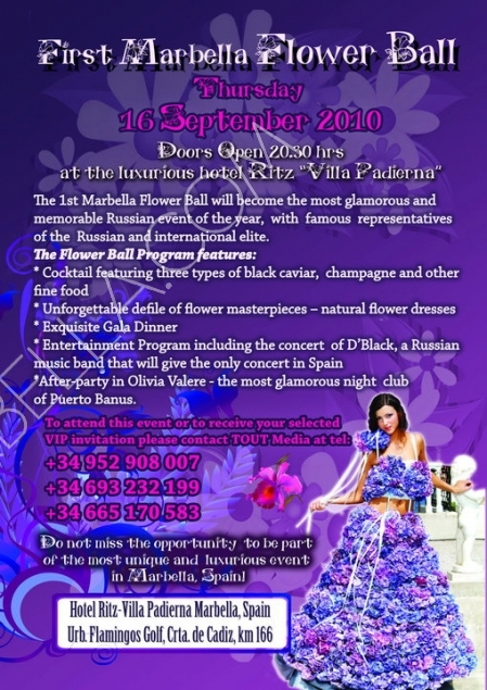 1st Marbella Flower Ball