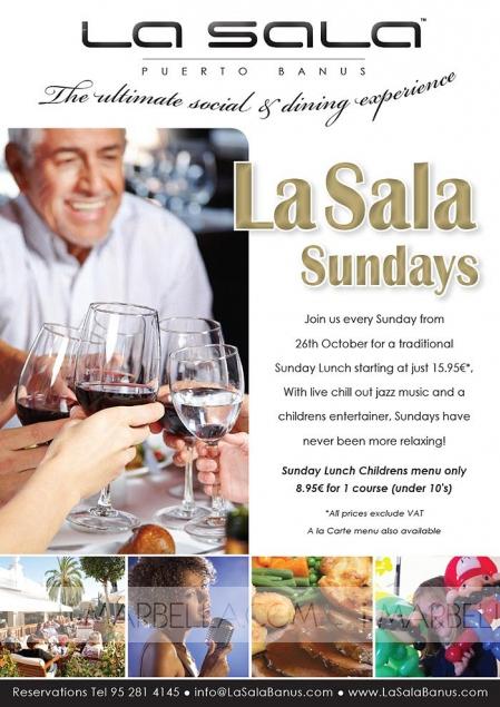 La Sala Sundays @ La Sala Puerto Banus