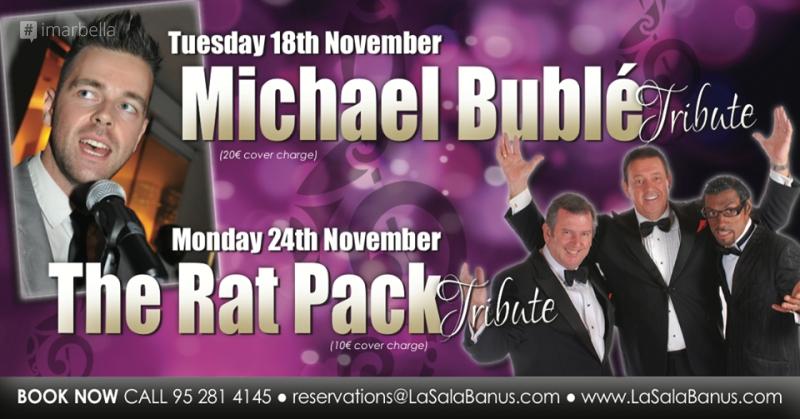 The Rat Pack Tribute Night @ La Sala