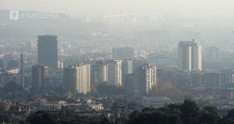 Smog Alert for Barcelona