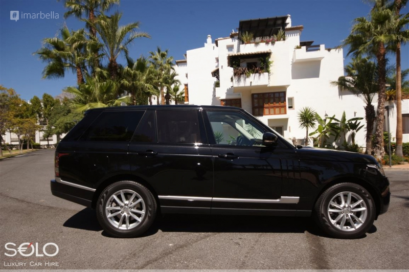 SOLO Luxury Car Hire in Marbella