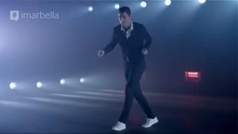 Ronaldo Dancing in New Ad: Video