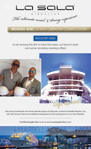La Sala Gibraltar Press Conference: Exclusive Gallery