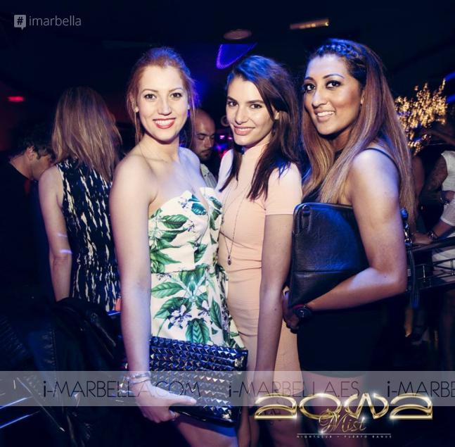 Party @ Aqwa Mist on April 18