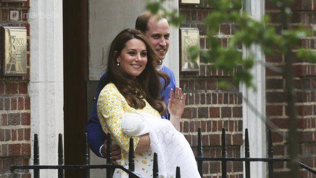 Герцогиня Кейт Миддлтон родила дочь