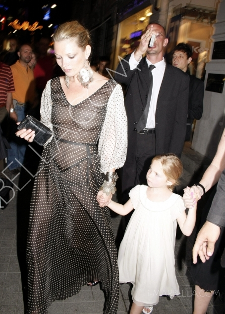 Kate Moss:My Daughter Is A Mini-Me