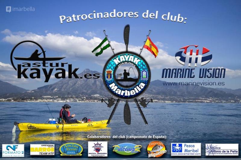 V Campeonato de España Open de pesca desde Kayak