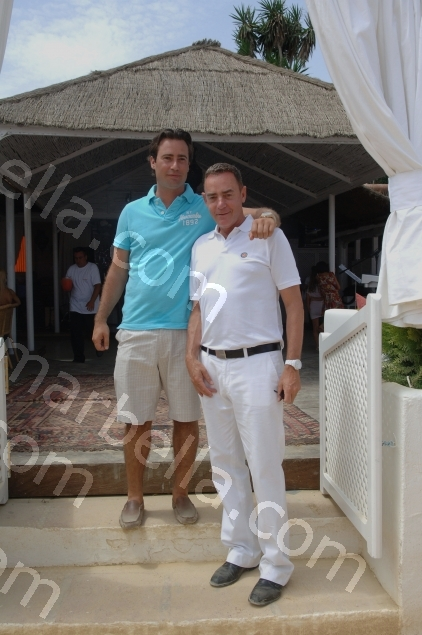 Premiership star at the official opening of Suite del Mar
