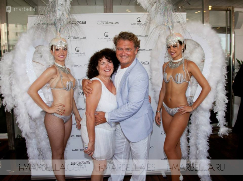 Spectacular White&Gold Party Launched La Sala Gibraltar