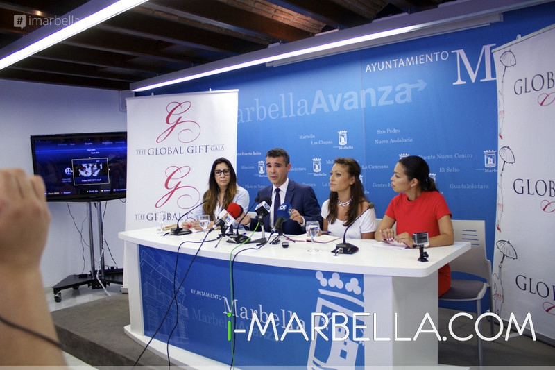 The Global Gift Gala Presentation in Marbella on June 25, 2015