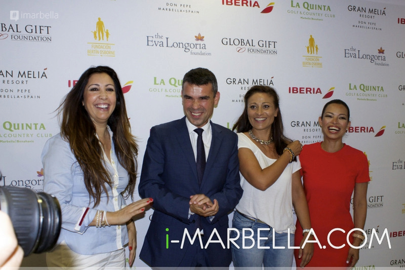 The Global Gift Gala Presentation in Marbella on June 25, 2015
