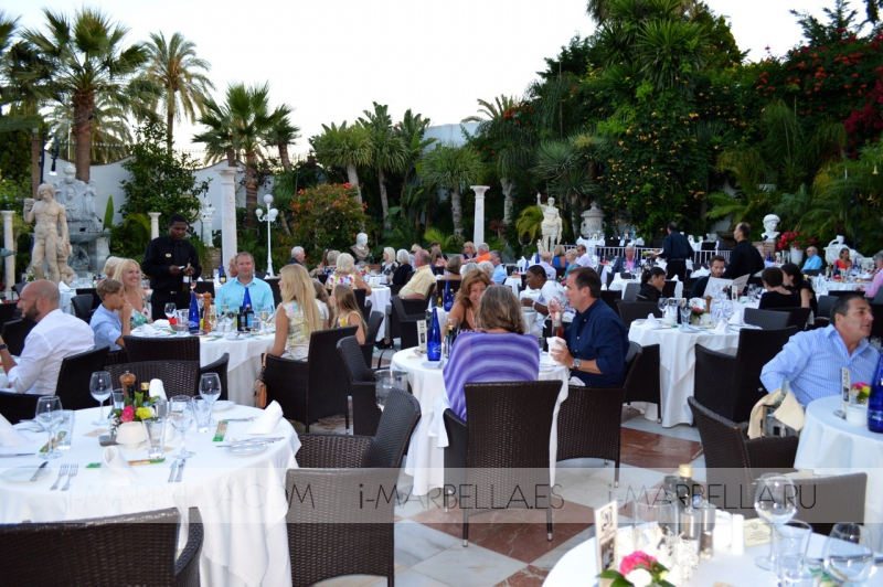 Dream Dinner at Villa Tiberio