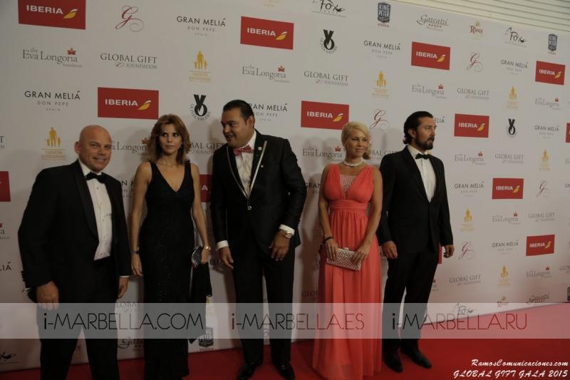 The Global Gift Gala Marbella Benefit 2015 at Gran Meliá Don Pepe