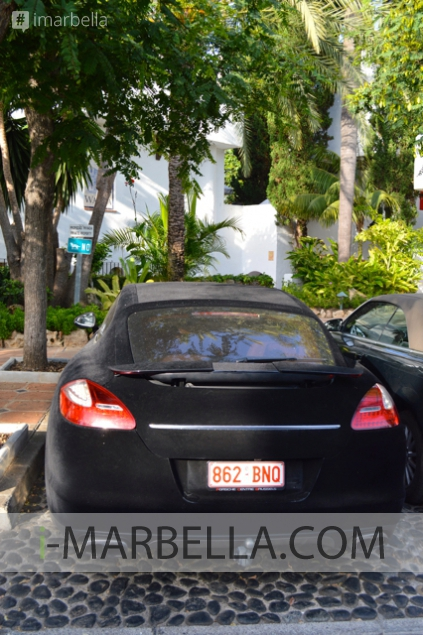 Latest News in Pictures: Luxurious and Unique Velvet Car in Marbella