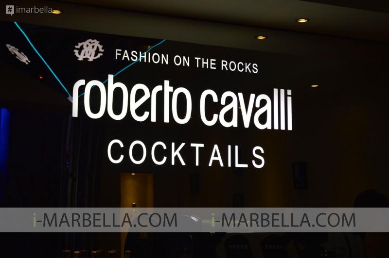 Cavalli Club Lounge Menu Testing