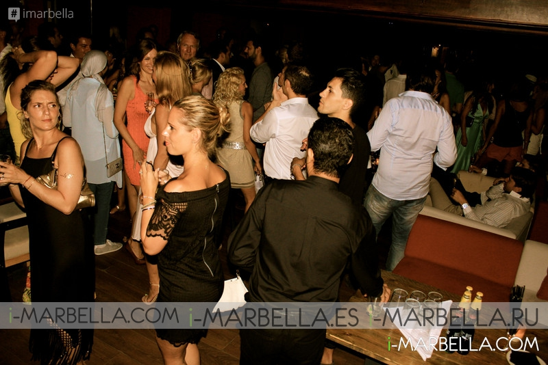 9 August 2015 Party at Suite Marbella