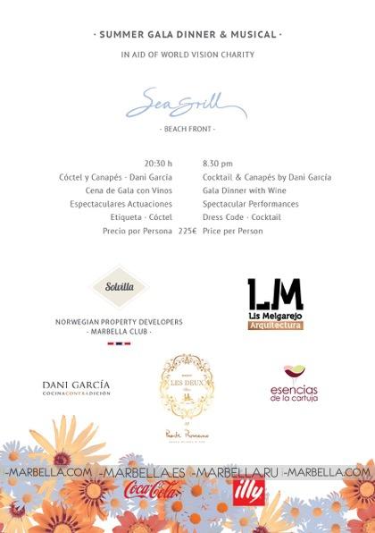 Puente Romano Beach Resort and Spa Celebrates the 3rd World Vision Gala