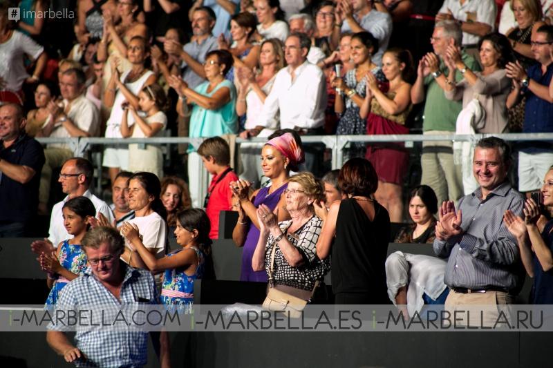 Sara Baras desata pasiones en Starlite 2015