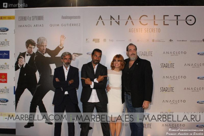 Anacleto Premiers at Starlite 2015