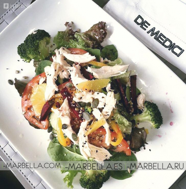 De Medici Restaurant in Marbella Offers You Perfection in Food and Service