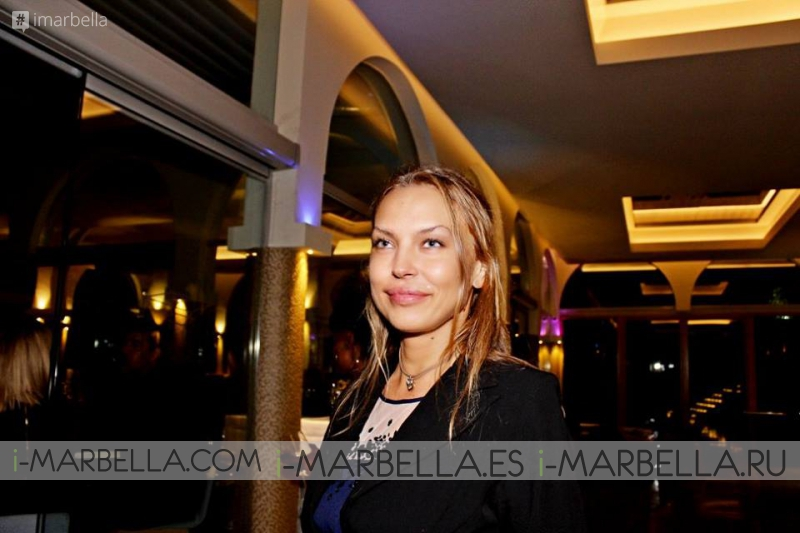 La Negra в Les Cubes Marbella 4 сентября 2015 года
