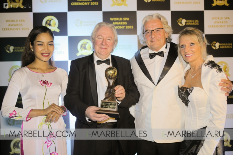 World's Best Spa Brand 2015: QMS MediCosmetics Used at Six Senses Spa Marbella
