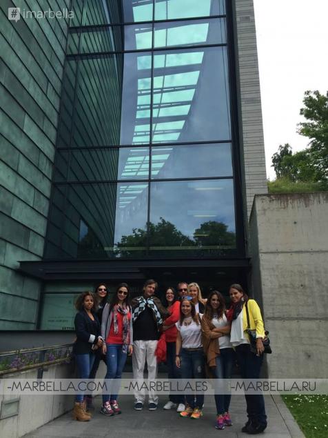 Dr. Kaye and Ocean Clinic's Team in Tallinn, Estonia, in July 2015