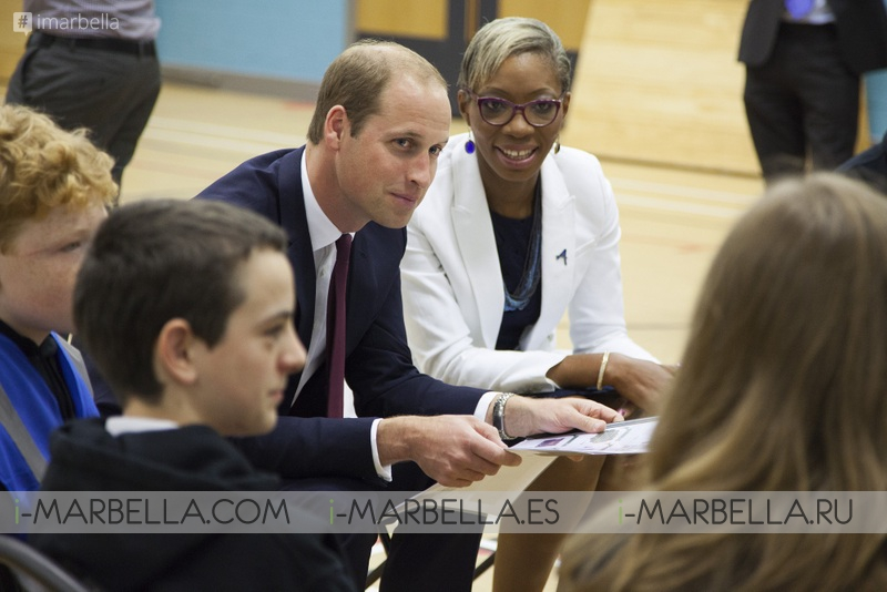 Global Gift Foundation and Prince William Together in London