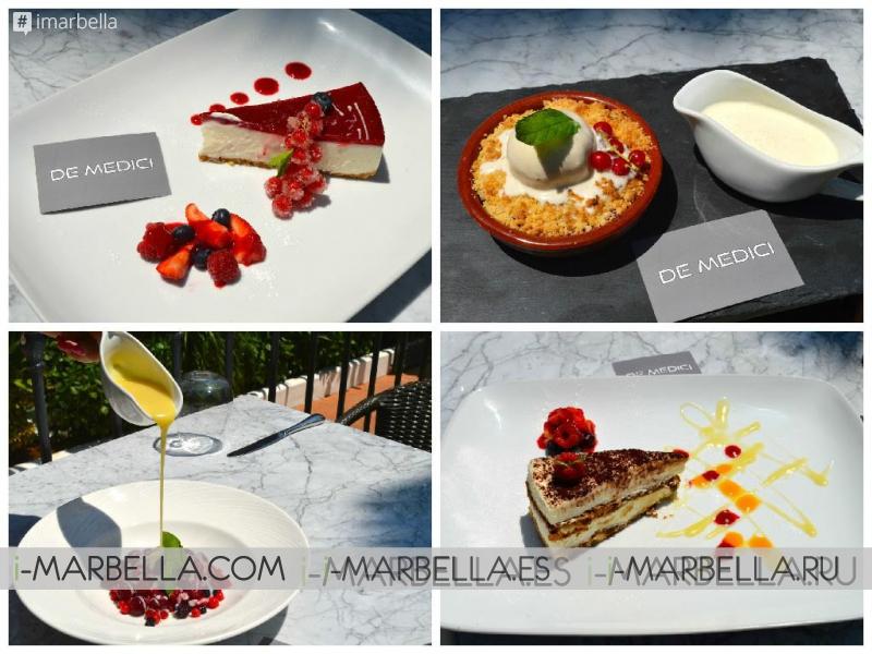 De Medici Double Page Feature in Marbella Rocks Magazine
