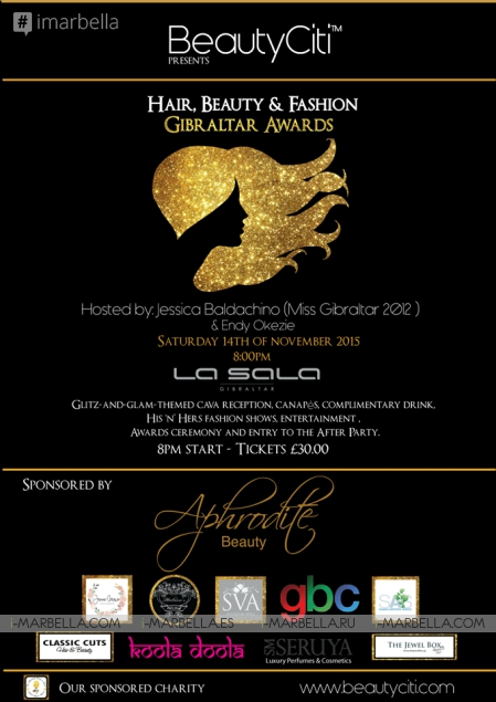 Hair, Beauty and Fashion Gibraltar Awards 2015 @ La Sala Gibraltar on November 14, 2015