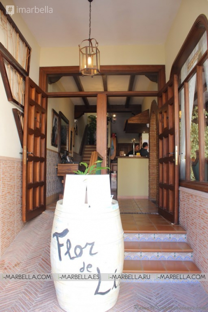 Food Tasting at La Flor de Lis Restaurant in Benahavis