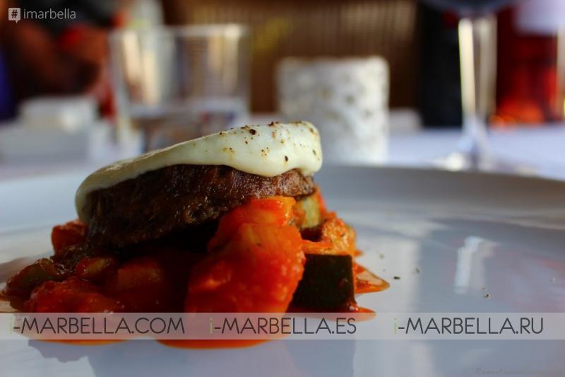 Food Tasting at La Flor de Lis Restaurant in Benahavis