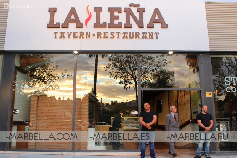 Gallery - Opening of La Leña Restaurant in San Pedro