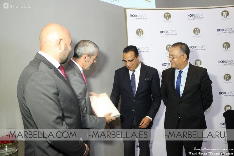 Grand Mogador Sea View & Spa Hotel Granted AFNOR Certification