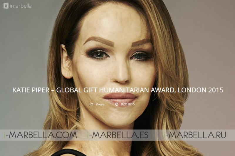 Katie Piper to Receive Global Gift Humanitarian Award by Eva Longoria
