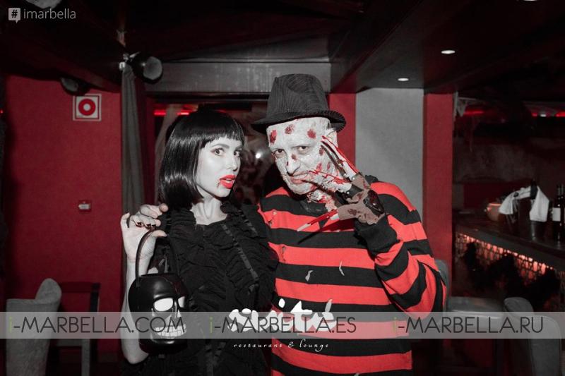 Хэллоуин 2015 в клубе Suite&UNI Marbella