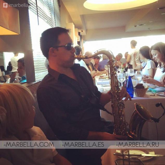 Fantastic Sunday Menu and Live Music @ La Sala Puerto Banus in Pictures
