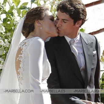 The Wedding of Eva González and Cayetano Rivera Attracts Countless Celebrities
