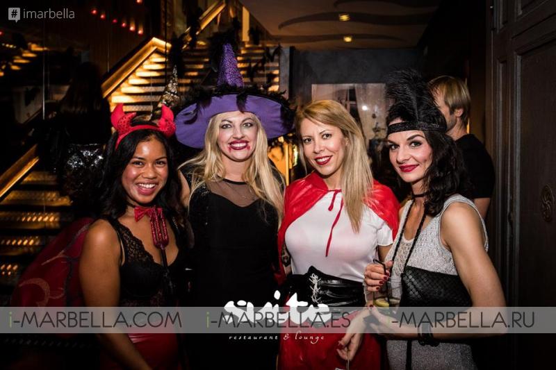 Хэллоуин 2015 в клубе Suite&UNI Marbella: Vol. 2