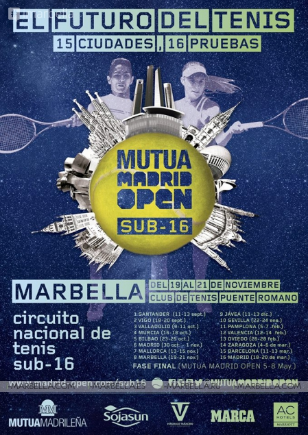 The Under-16 Mutua Madrid Open Took Place in Marbella @ Puente Romano Tennis Club