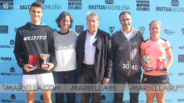 The Under-16 Mutua Madrid Open Took Place in Marbella @ Puente Romano Tennis Club