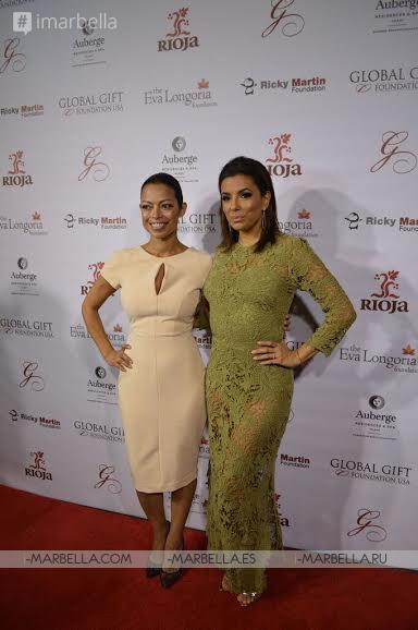 Ricky Martin y Eva Longoria, anfitriones en la primera cena benéfica de Fundación Global Gift en EEUU